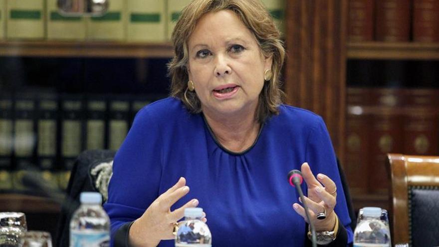 La consejera de Empleo, Industria y Comercio del Gobierno de Canarias, Francisca Luengo.(EFE/Cristóbal García)