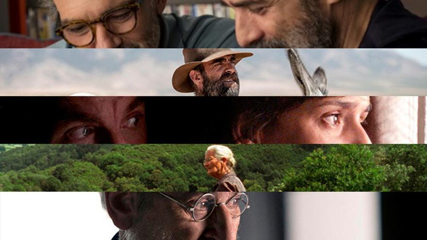 Nominadas a 'Mejor Película' de los Goya