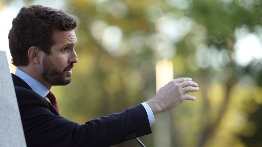 Casado cree que Sánchez no define Cuba como dictadura al depender de Podemos