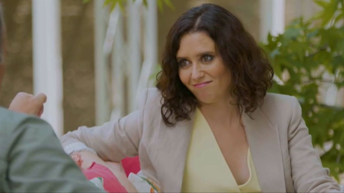 Isabel Díaz Ayuso, en 'Mi casa es la tuya'