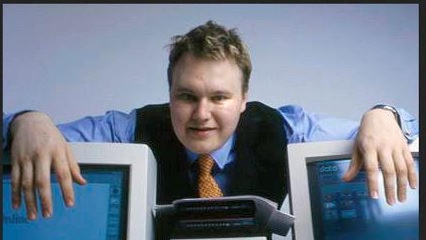 Kim Dotcom en 1996