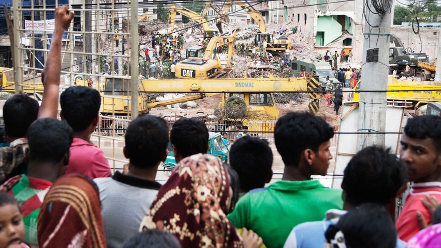 Se cumplen 3 años del hundimiento del Rana Park de Bangladesh