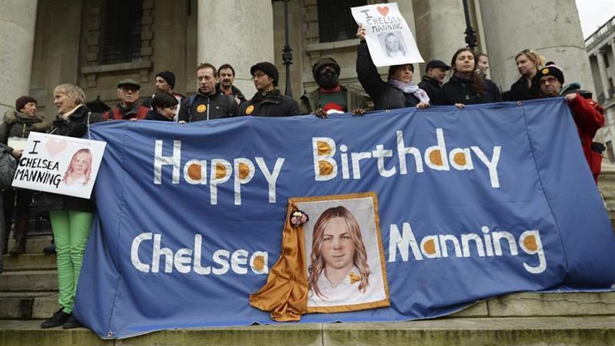 Exsoldado Chelsea Manning, fuente de Wikileaks, será liberada la próxima semana