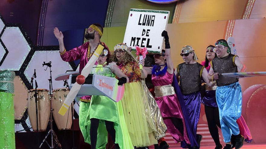 Primer premio en la categoría de grupos en el Carnaval de la integración