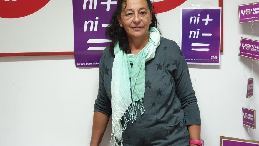Lupe Parrilla es secretaria general de UGT en La Palma.