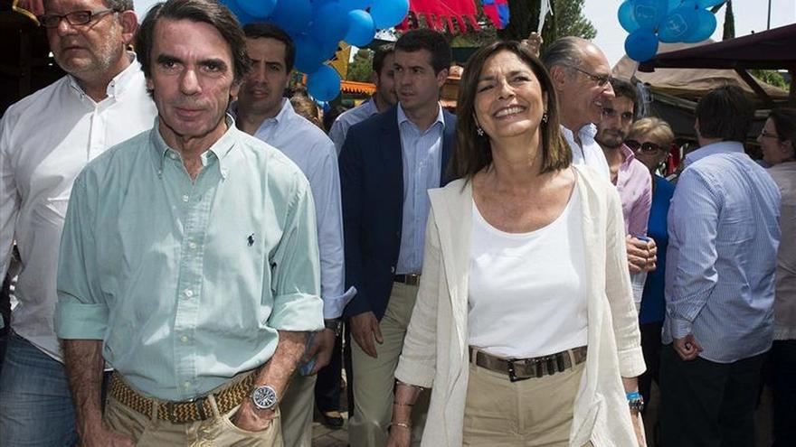 Aznar arropa a Adrados, candidata del PP a la alcaldía de Pozuelo de Alarcón