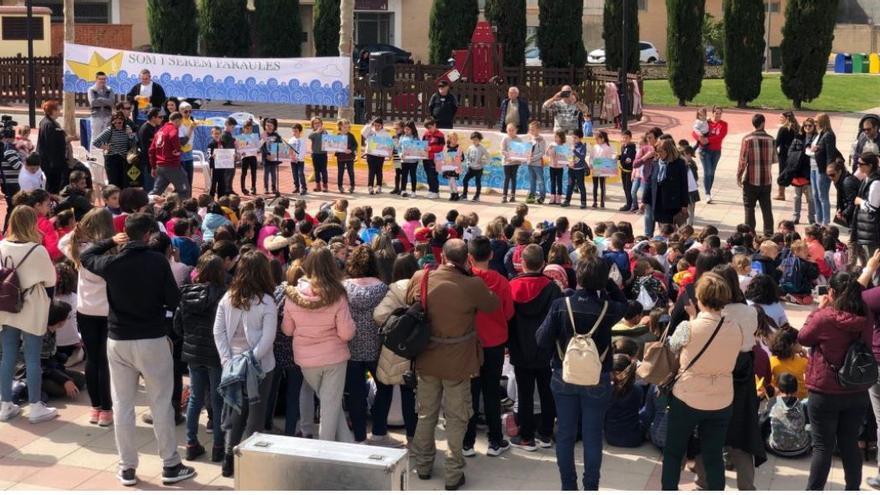 Un momento de la presentación de las Trobades 2019 en la Font d'En Carròs