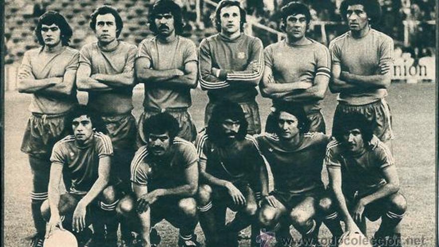 Formación del CD Tenerife en el partido de vuelta disputado en la capital de España.