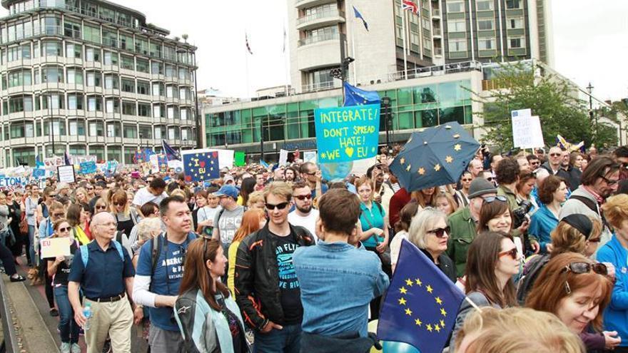 """Manifestación convocada hoy en Londres contra el """"brexit"""""""