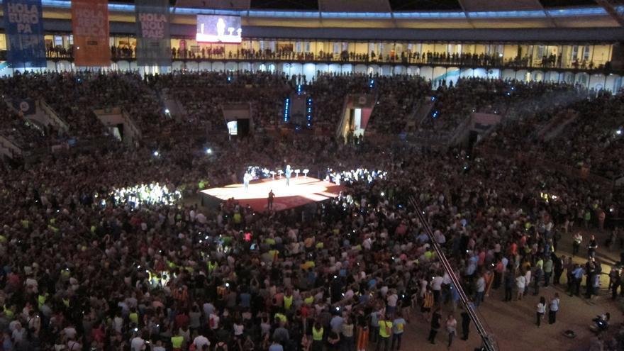 El independentismo cerrará su campaña con un acto unitario en Montjuïc el viernes