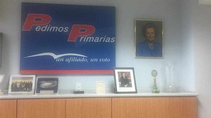 Sede del PP en el distrito de Salamanca (Madrid). Foto cedida