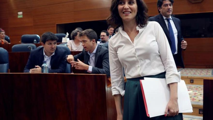 Ayuso pedirá a Sánchez una reforma del sistema de financiación autonómica