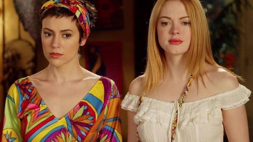 Alyssa Milano y Rose McGowan