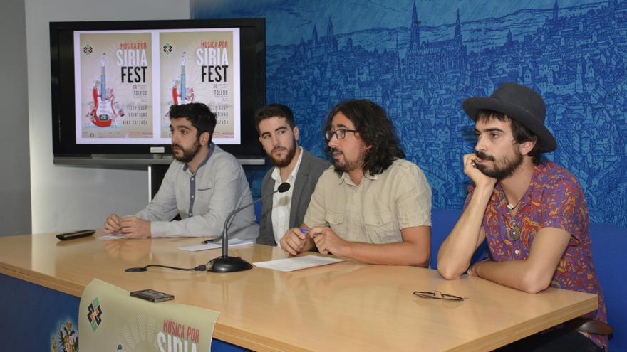 Presentación de 'Música por Siria Fest' / Ayuntamiento de Toledo