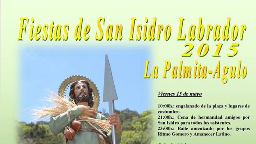 Cartel de las fiestas de San Isidro Labrador