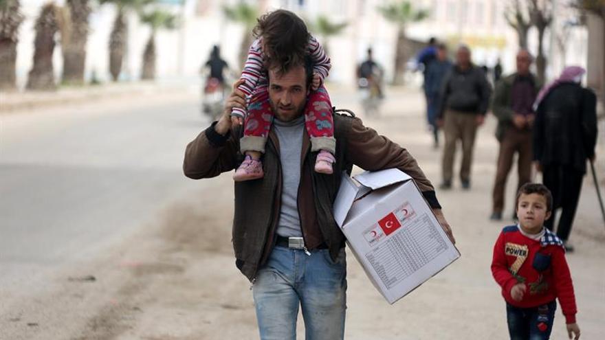 La ONU eleva a 167.000 los desplazados del enclave kurdosirio de Afrín