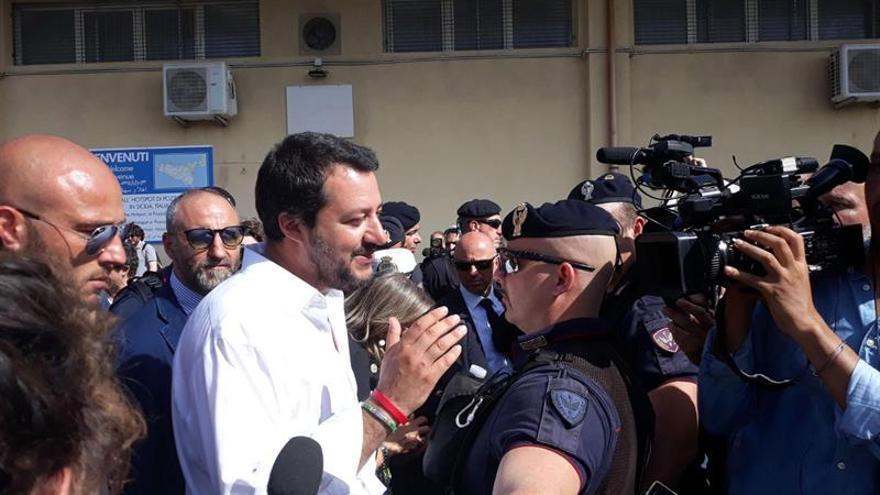 Salvini adelanta que Italia no aprobará mañana el documento europeo sobre inmigración