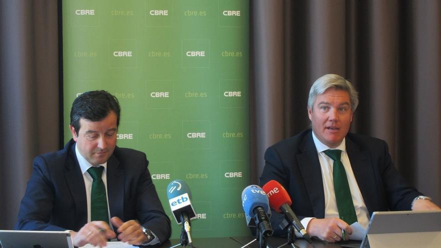 """El sector logístico, """"estrella"""" del mercado inmobiliario vasco, mantendrá """"un lugar destacado"""" en 2017, según CBRE"""