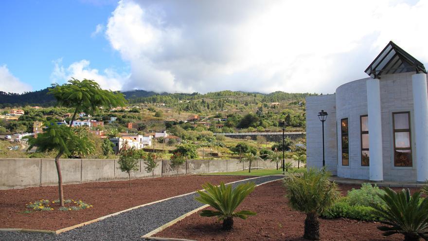 Una jardín del Puntagorda.