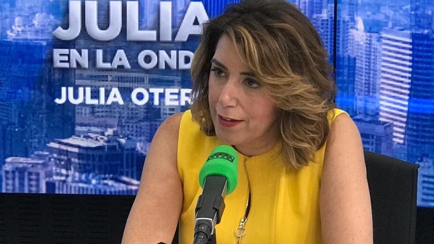 """Susana Díaz acusa a Iglesias de """"buscar su salvavidas a costa del Gobierno de España"""" y no ve """"justo"""" repetir elecciones"""
