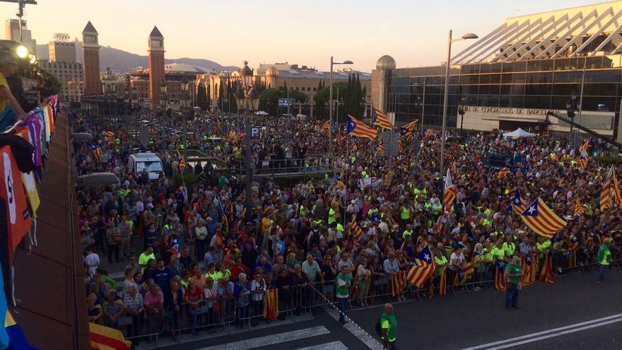 """Fachin (Podem) proclama la unidad del pueblo de Cataluña: """"Quiere votar y no tiene miedo"""""""