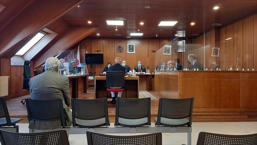 Archivo - Exalcalde de Noja, Jesús Díaz, declara en el juicio contra él por el caso 'Nocanor'