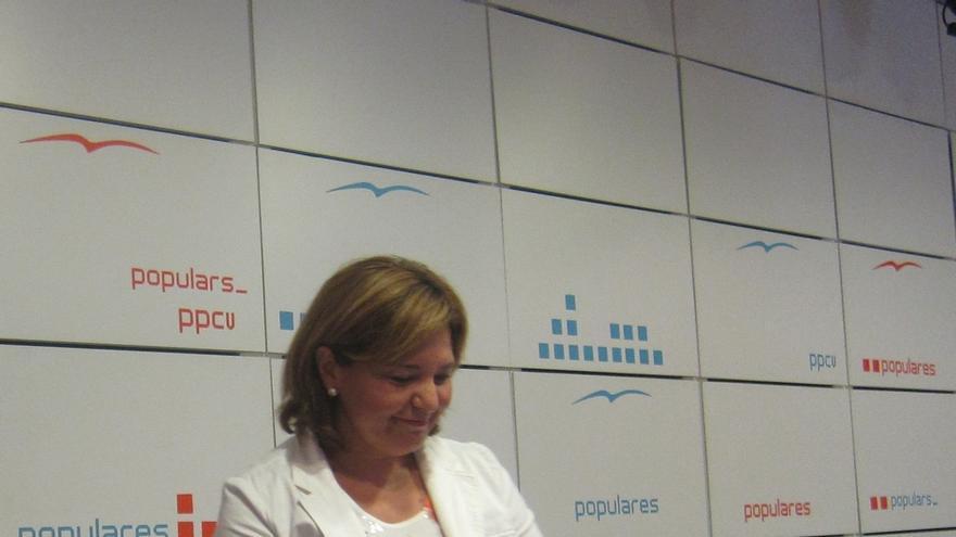 Bonig afirma que es Génova quien debe resolver el futuro de los concejales de Valencia del PP investigados en Taula