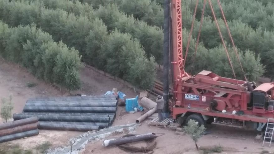 Entubamiento en los aledaños del Río Aguas (Europa Press)