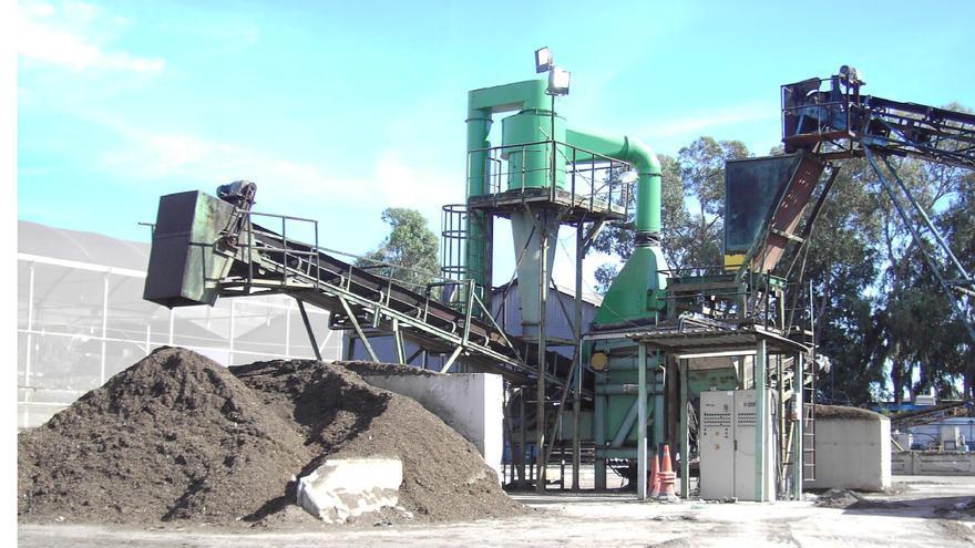 Planta de residuos de Arbonasa en Crevillent. / Foto: Ayuntamiento de Crevillent