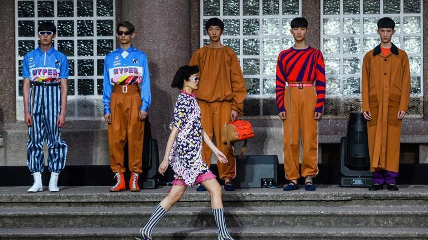 Los iconos del Japón de los 70 inspiran la nueva colección de Kenzo