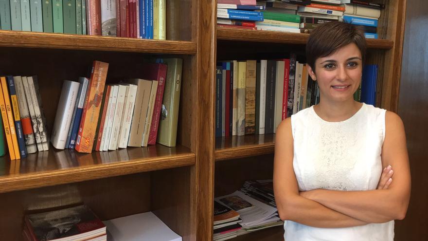 La secretaria general adjunta del Grupo Socialista, Isabel Rodríguez