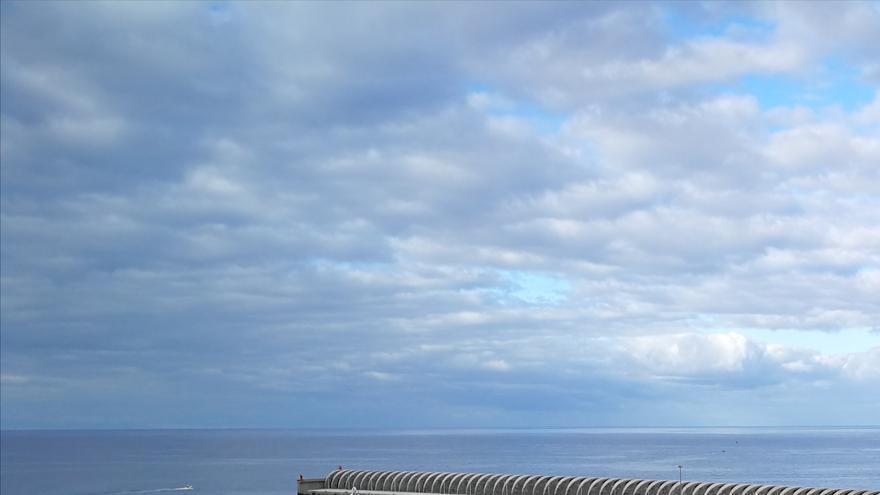Panorama del Puerto de Tazacorte.