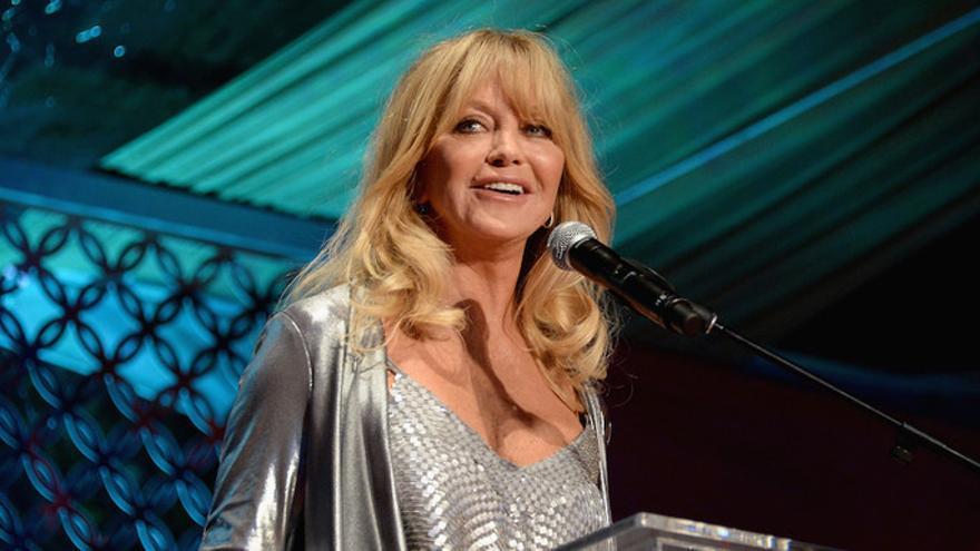 La actriz estadounidense Goldie Hawn