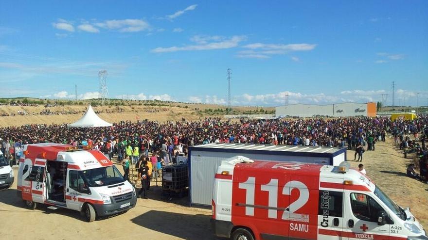 Cruz Roja contará con un dispositivo de 80 personas este domingo en el Nafarroa Oniez 2017