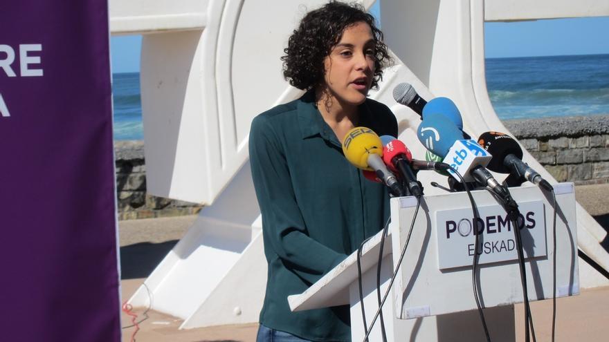 """Podemos Euskadi dice que tener grupo propio en el Congreso le facilitará """"llevar la voz de los vascos"""""""