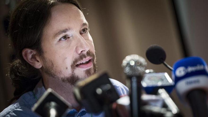 """Pablo Iglesias dice que Piketty ha dado a Podemos una """"válvula de oxígeno"""""""