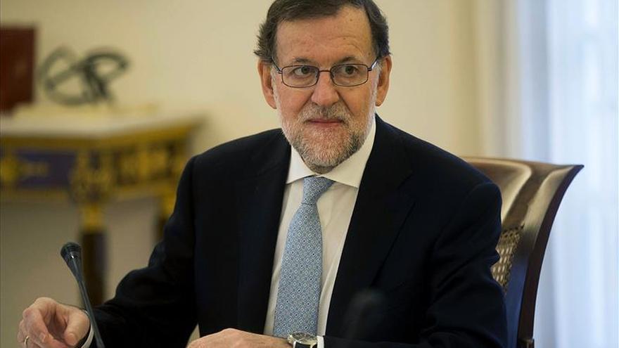 Rajoy comparecerá hoy en Moncloa tras la reunión del Consejo de Ministros