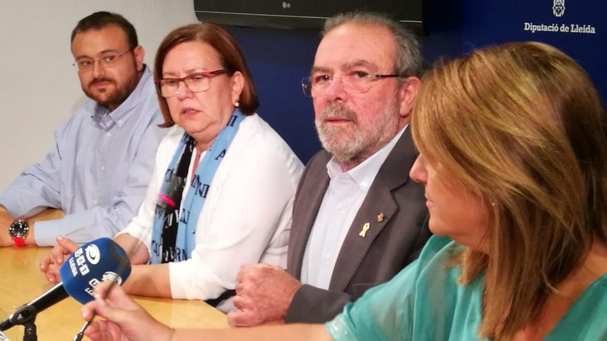 Diputados del PDeCAT en la Diputación de Lleida piden que la vicepresidenta releve a Reñé tras su detención