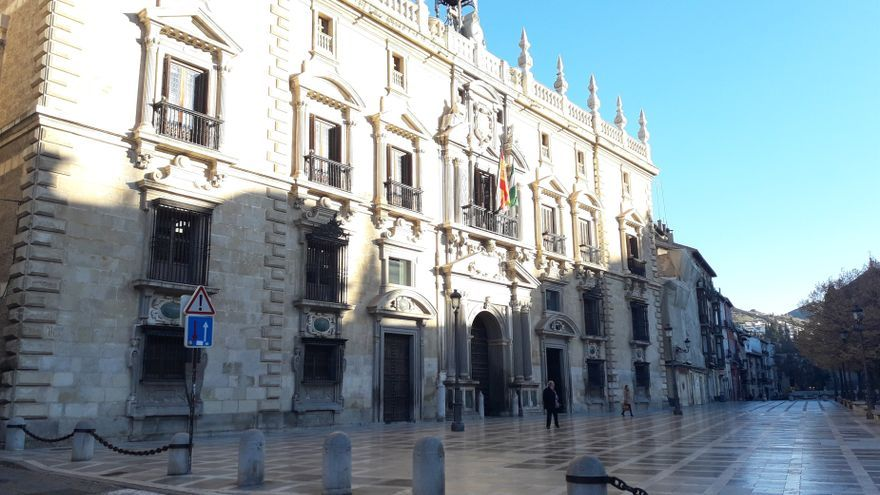 Archivo - Real Chancillería de Granada, en imagen de archivo