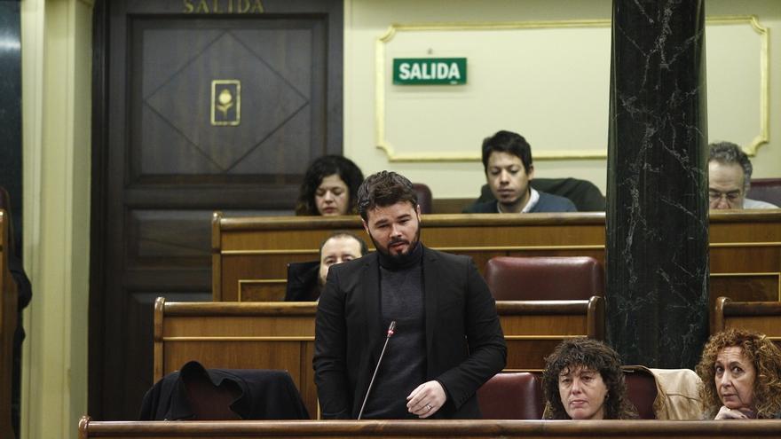 """Rajoy, tras escuchar a Rufián en el Congreso: """"En política no hay absurdo imposible"""""""