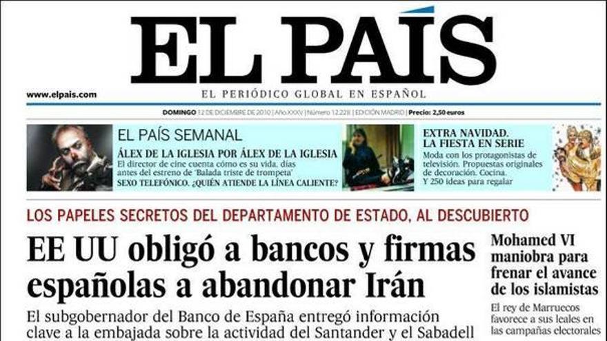 De las portadas del día (12/12/2010) #8
