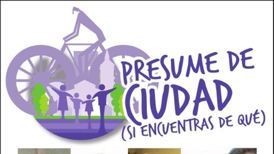 """Parodia de la campaña """"Presume de Ciudad"""" de Guadalajara / Ganemos Guadalajara"""