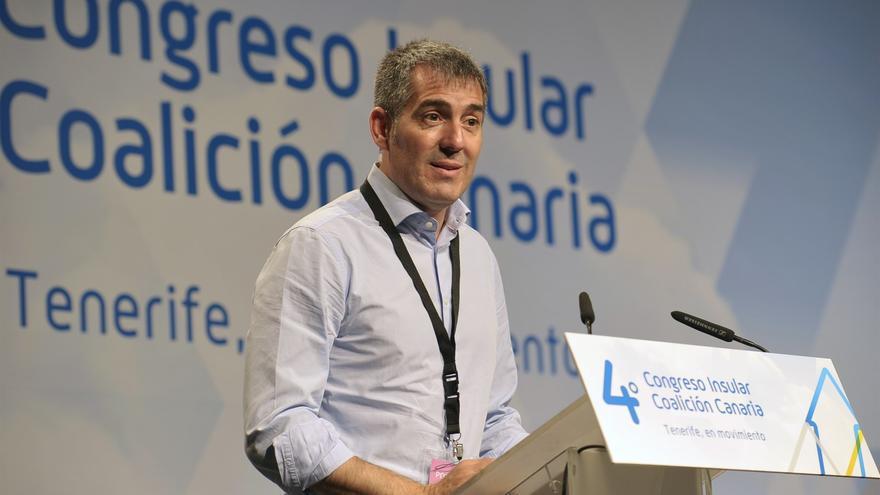 Fernando Clavijo, presidente del Gobierno de Canarias y secretario insular saliente en Tenerife