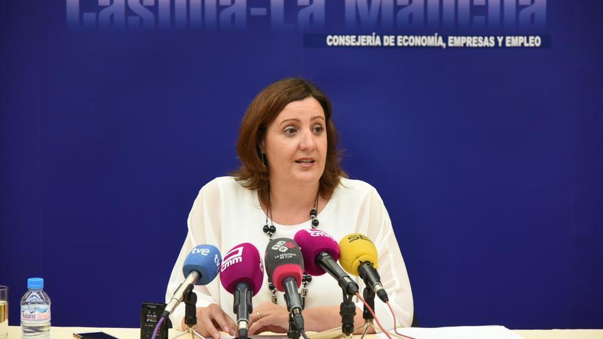 Patricia Franco, en rueda de prensa