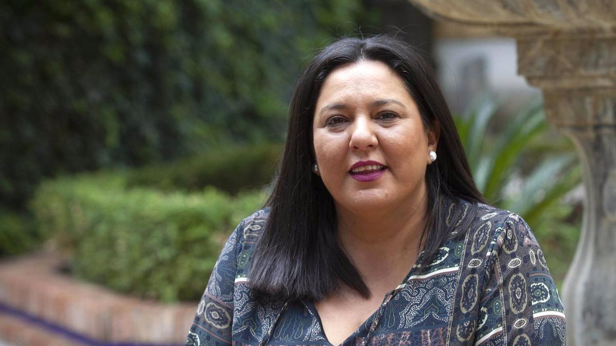 La vicepresidenta primera y delegada de Asistencia Económica a los Municipios y Mancomunidades de la Diputación de Córdoba, Dolores Amo.