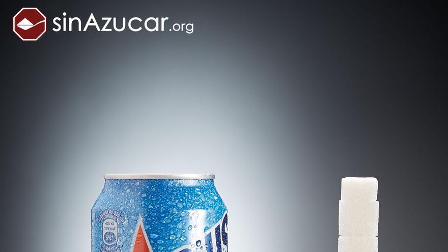 Cantidad de azúcar que contiene un Aquarius