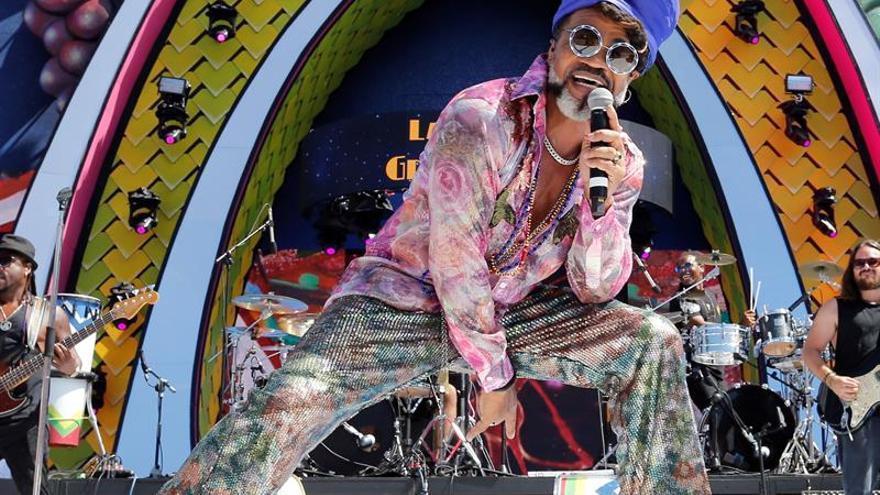 El músico, cantante y productor brasileño Carlinhos Brown.