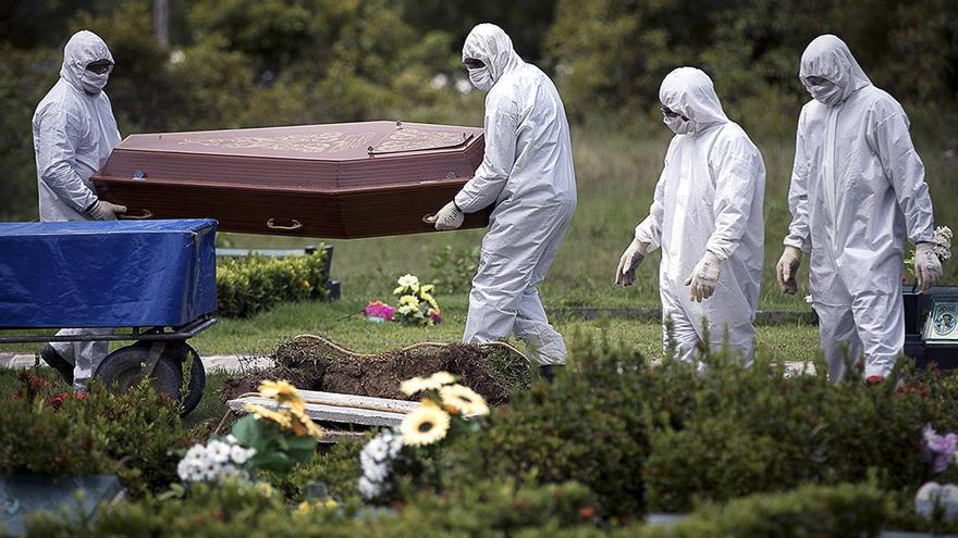 La pandemia mata a una persona por minuto en Brasil
