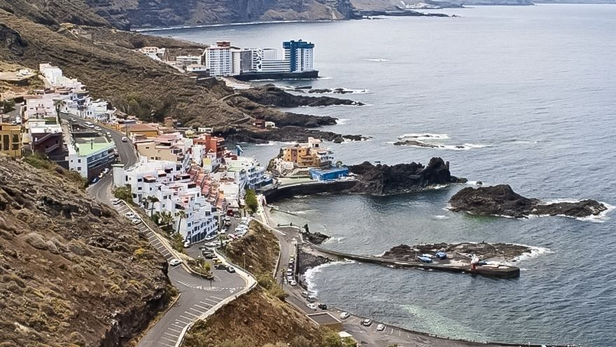Costa del Pris, en el norte de Tenerife. EUROPA PRESS