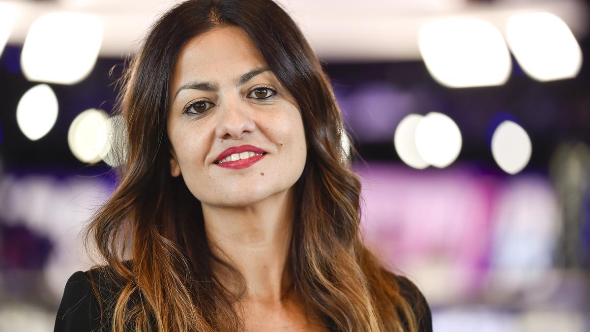 La portavoz de IU en el Parlamento Europeo, Sira Rego.